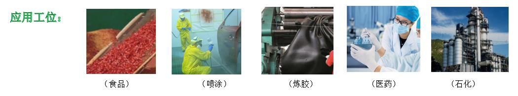 喷淋设备应用行业