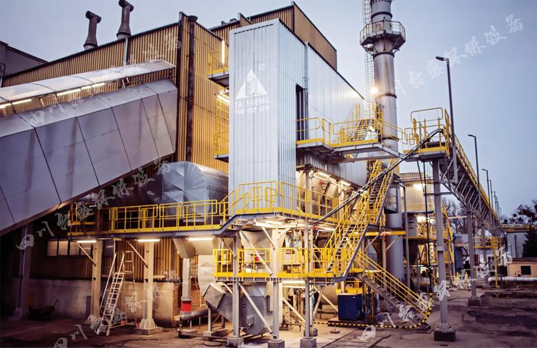 台盛案例-建材工厂拍摄一